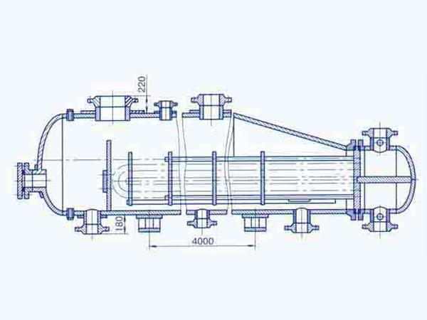 Теплообменник трубчаты пароводяной 4 ходовой теплообменник 1200тнг цена