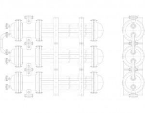 Пример-компановки-элементов-теплообменника-труба-в-трубе-многопоточного-ТТМ-в-блок