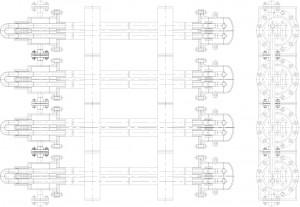 Пример-компановки-элементов-теплообменника-труба-в-трубе-разборного-малогабаритного-ТТРМ-в-блок